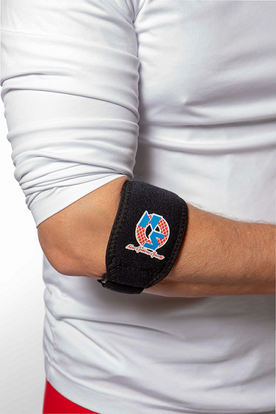 "E10-U: ""Gel*Bow"" Universal Elbow Strap with Gel Pad"