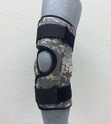 K64-MP-DC: Knee Mate Wrap Around with Hinges in Digital Camouflage