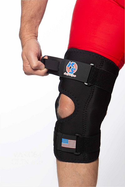 "VAKC64: ""KneeMate"" Koolflex Wrap Around knee orthosis"