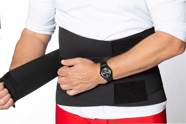 L5N: Elastic Lumbar Support with Neoprene Pocket