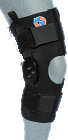 "K42-HT: Sports ""Rehab Knee"" Brace with ROM Hinge"